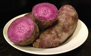 purple yam, purple sweet potato, ube