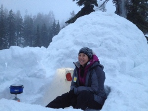 igloo, winter camping