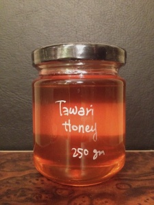 Jar of honey, Tawari honey, New Zealand honey