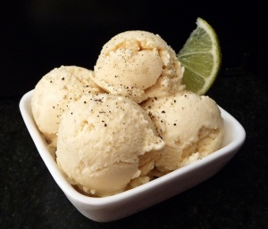 lime peppercorn ice cream
